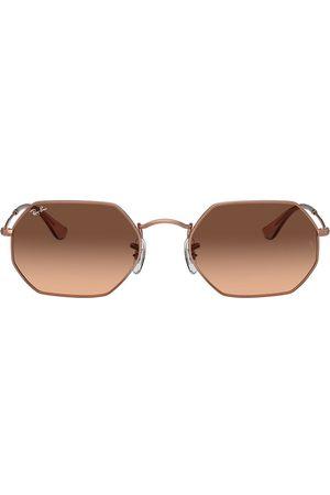 Ray-Ban RB3556N octagonal-frame sunglasses