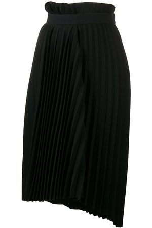 Balenciaga Fancy pleated asymmetric skirt