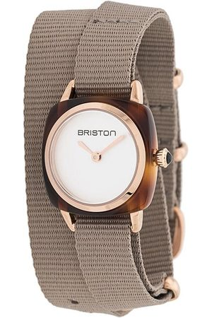 Briston Women Watches - Clubmaster wrap watch - Neutrals