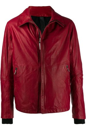 ISAAC SELLAM EXPERIENCE Men Leather Jackets - Zip front leather jacket
