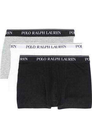 Polo Ralph Lauren Set of three logo waistband boxers