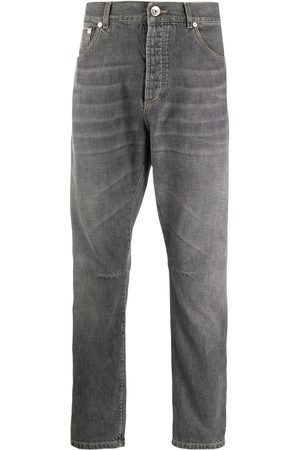 Brunello Cucinelli Men Tapered - Tapered jeans - Grey