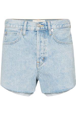SLVRLAKE Women Shorts - Farrah raw-hem denim shorts