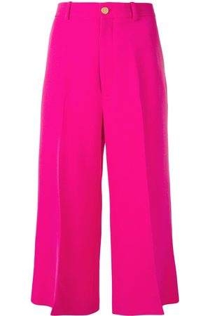 Gucci Cropped straight trousers