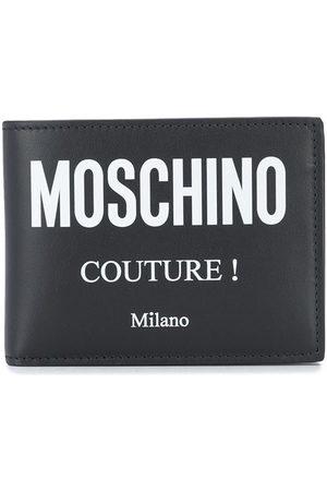 Moschino Logo-print folding wallet