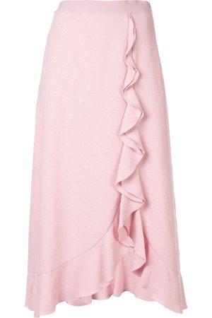 Giambattista Valli Women Midi Skirts - Ruffle trim midi skirt