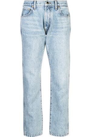 Khaite Women Boyfriend Jeans - Cropped boyfriend jeans