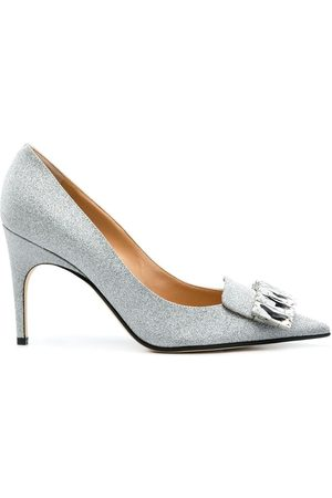Sergio Rossi Logo plaque pumps
