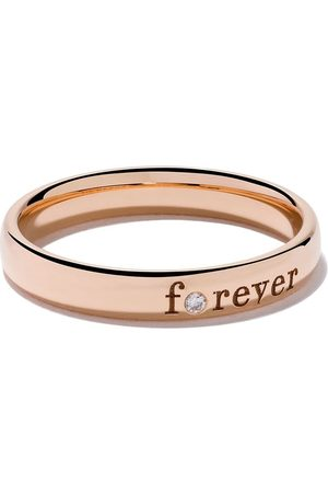 De Beers Jewellers 18kt rose Forever diamond band
