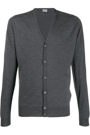 JOHN SMEDLEY Petworth cardigan - Grey