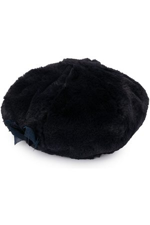 Familiar Faux fur beret