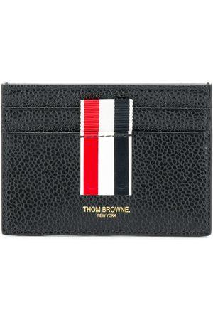 Thom Browne Vertical Intarsia stripe cardholder