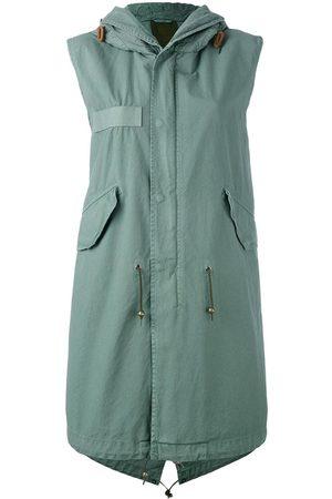 Mr & Mrs Italy Women Parkas - Sleeveless parka coat