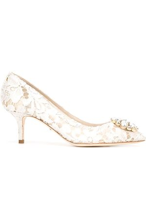 Dolce & Gabbana Belluci Taormina lace pumps - Grey