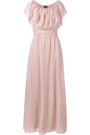 Armani Women Maxi Dresses - Ruffle maxi dress