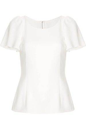 Dolce & Gabbana Women Tops - Ruffled sleeve top