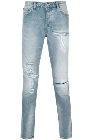 KSUBI Slim-fit distressed jeans