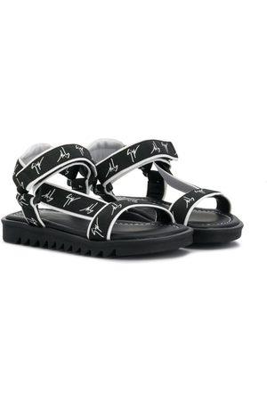 Giuseppe Zanotti Boys Sandals - Logo sandals