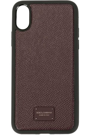 Dolce & Gabbana Men Phones Cases - Logo iPhone X case
