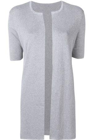 SOTTOMETTIMI Short-sleeved cardigan - Grey