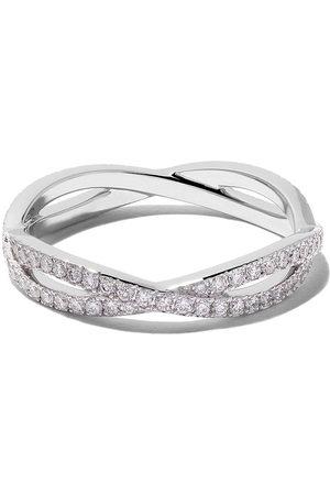 De Beers Jewellers 18kt Infinity full-pavé diamond band
