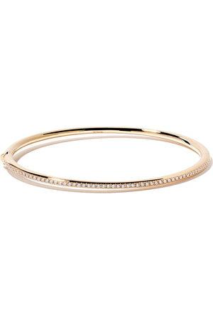 De Beers Jewellers 18kt Micropavé diamond bangle