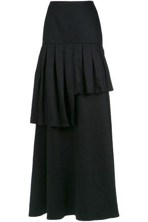 Adriana Degreas Frilled maxi skirt