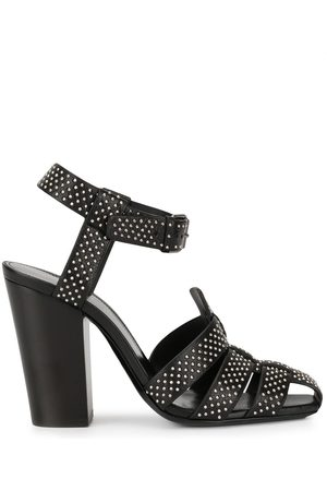 Saint Laurent Oak 100mm studded sandals