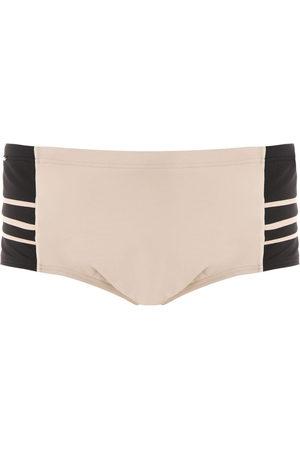 AMIR SLAMA Men Swim Shorts - Panelled swim trunks