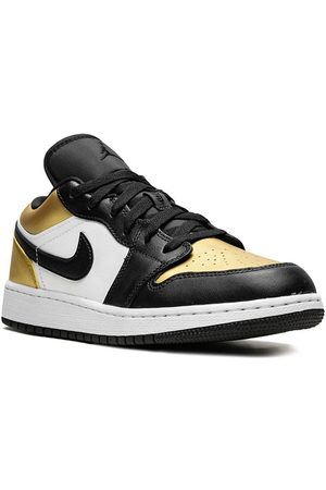 Nike TEEN Air Jordan 1 Low (GS) gold toe - Multicolour