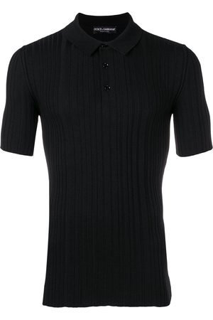 Dolce & Gabbana Ribbed knit polo shirt