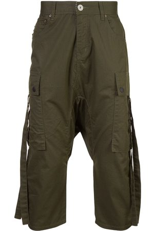 Mostly Heard Rarely Seen Men Cargo Pants - Cropped cargo trousers