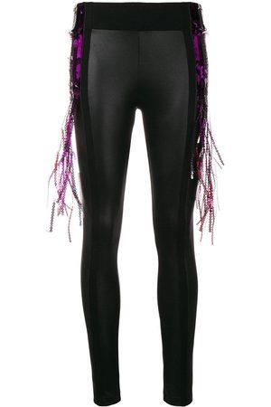 NO KA' OI Fringe detailing leggings