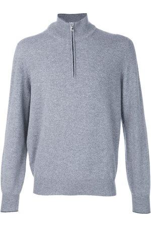 Brunello Cucinelli Half zip sweater - Grey