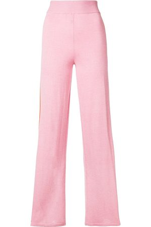 Cashmere In Love Women Wide Leg Pants - Esther striped trousers