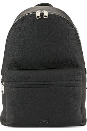 Dolce & Gabbana Logo plaque backpack