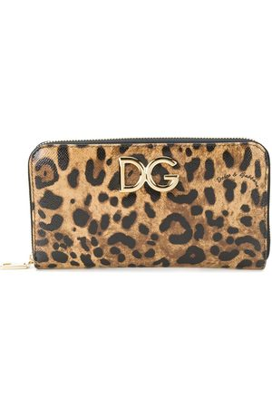 Dolce & Gabbana Women Wallets - Continental logo plaque wallet