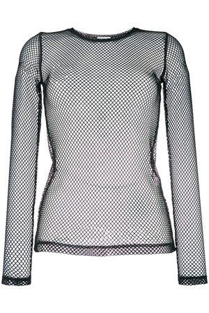 P.a.r.o.s.h. Women Long Sleeve - Long-sleeved net top