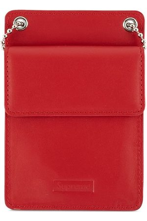Supreme Wallets - Leather ID Holder - Red