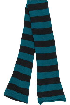 La DoubleJ Striped knit skinny scarf