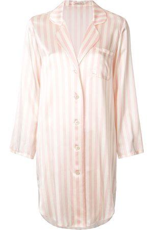 Morgan Lane Jillian silk night shirt - Neutrals