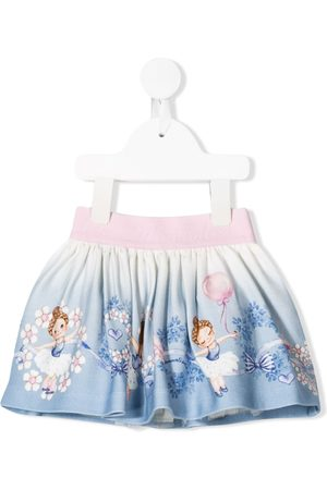 MONNALISA Baby Skirts - Ballerina graphic skirt