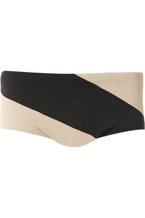 AMIR SLAMA Panelled trunks