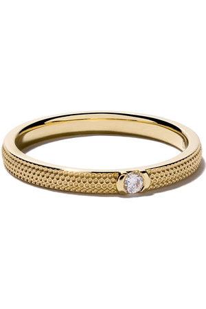 De Beers Jewellers 18kt Azulea diamond band