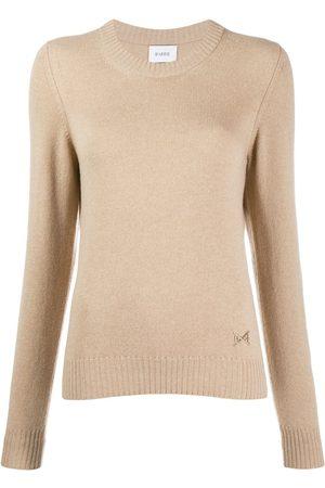 Barrie Women Sweaters - Round neck cashmere jumper