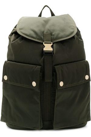 PORTER Men Rucksacks - Olive Nylon Back Pack