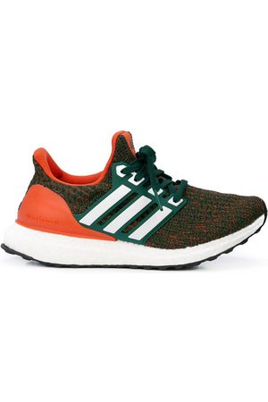 "adidas ""Miami Hurricanes"" UltraBoost sneakers"