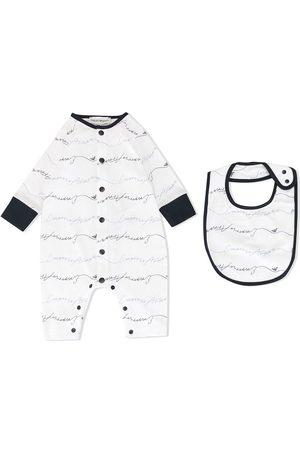 Emporio Armani Bodysuits & All-In-Ones - Logo print babygrow set