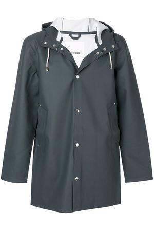 Stutterheim Rainwear - Hooded raincoat - Grey