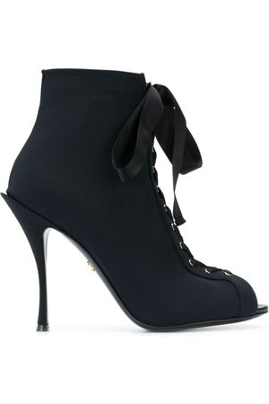 Dolce & Gabbana Bette open toe booties